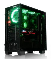 Wildrabbit I Gaming 8750, i7-8700K, GTX-1080Ti 11GB, 16GB RAM, 275GB SSD, 1TB HDD, Gamer PC