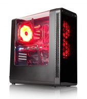 Wildrabbit I Gaming 8350, i3-8350K, GTX-1060 Gaming 6GB, 16GB RAM, SSD250 GB, 1TB HDD, Gaming PC